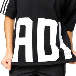 Adidas Originals Bold Age V Neck Three Stripe